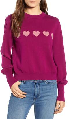 The Fifth Label Beloved Heart Intarsia Sweater