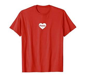 I Love Penis Funny T-shirt Men's Women's Up To 3XL   LGBT