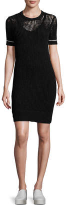 James Perse Ribbed Sheath Dress