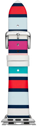 Kate Spade Striped Leather Apple Watch Strap 38mm