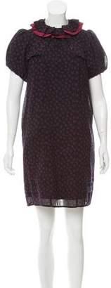 Marc by Marc Jacobs Printed Velvet Dress