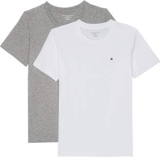 Tommy Hilfiger Icon cotton t-shirt pack of two 4-16 years