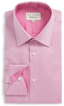 Ted Baker Lavindr Endurance Trim Fit Solid Dress Shirt