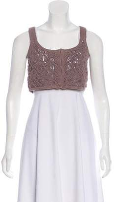 Philosophy di Alberta Ferretti Sleeveless Crop Top
