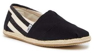 Toms Stripe University Slip-On Sneaker