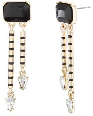 Steve Madden Crystal Dangle Earrings