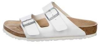 Birkenstock Leather Slide Sandals