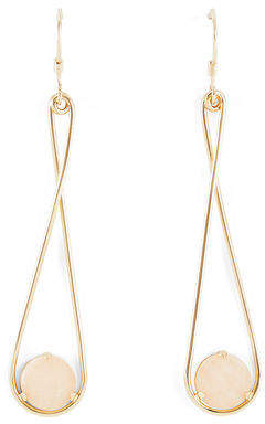 BCBGMAXAZRIA Natural Stone Drop Earring