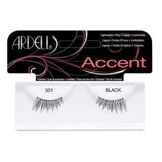Ardell Fashion Lashes Accents 301 Black 1 Pair