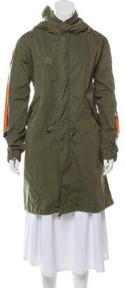 Mr & Mrs Italy Accented Parka Jacket