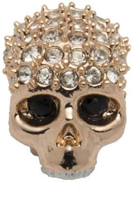 Alexis Bittar Rose Gold Tone Pav Skull Slide