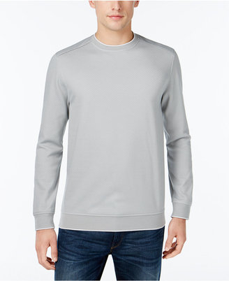 Tasso Elba Men's Knit Sweater, Only at Macy's $69.50 thestylecure.com