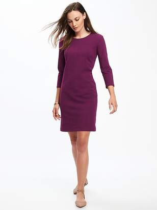 Fitted Jersey-Stretch Tee Dress for Women $29.99 thestylecure.com