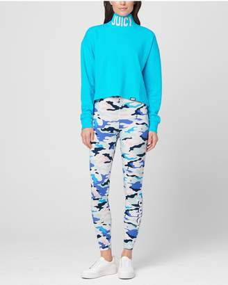 Juicy Couture JXJC French Terry Turtleneck Pullover