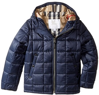 Burberry Kids - Mini Cherkley Puffer Jacket Boy's Coat $350 thestylecure.com