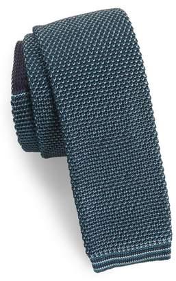 Ted Baker Birdseye Knit Silk Skinny Tie