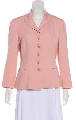 Christian Dior Wool Shawl-Collar Jacket