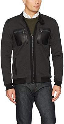 Calvin Klein Men's Long Sleeve Multi Pocket Full Zip Jacket