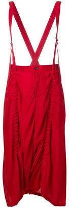 Yohji Yamamoto oversized trousers with braces