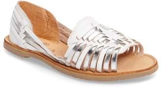 Sbicca Jared Peep Toe Flat