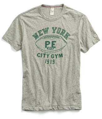 Todd Snyder + Champion New York P.E Graphic T-Shirt in Antique Grey Mix