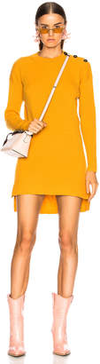 Fendi Cashmere Rib Sweater Dress
