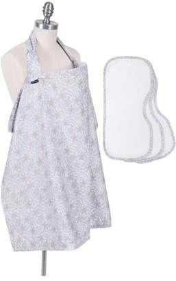 Bebe Au Lait Nursing Cover & Burp Cloth Set