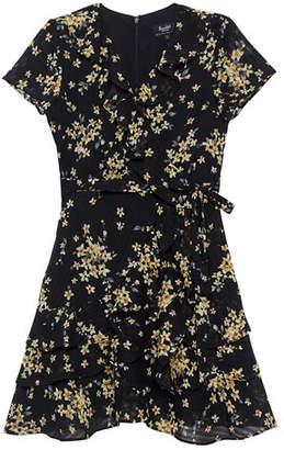 921b9990942 Luella Bardot Junior Floral Wrap Dress