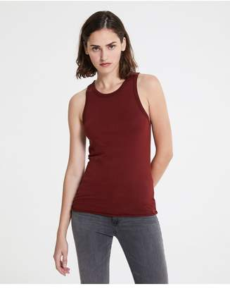 AG Jeans The Lexi Tank - Tannic Red