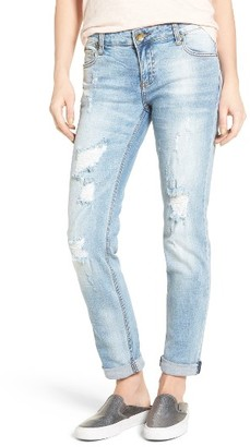 Women's Kut From The Kloth Catherine Distressed Boyfriend Jeans $89 thestylecure.com