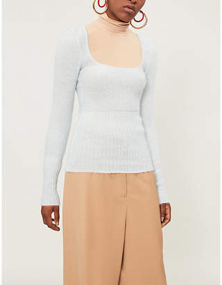 Jacquemus Ribbed stretch-knit jumper
