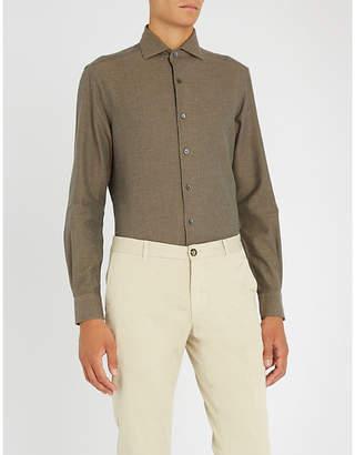 Corneliani Regular-fit cotton-twill shirt