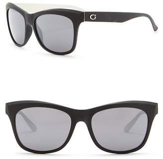 GUESS 55mm Square Sunglasses