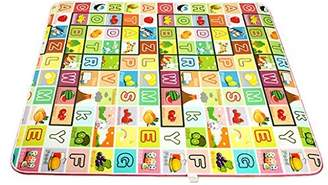 DEHANG Double-sided Baby Playmat Cushion Crawling Pad Baby Play Mat Gym Mat
