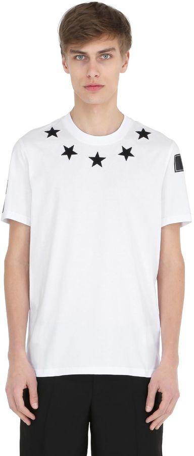 Cuban Star Patches Jersey T-Shirt