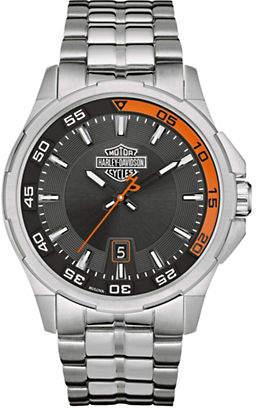 Harley-Davidson The Dashboard Stainless Steel Analog Watch