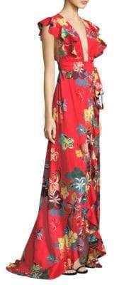 Alexis Janna Hi-Lo Maxi Dress