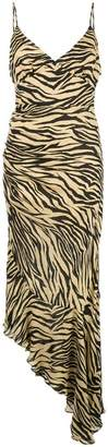 Nicholas zebra printed dress