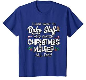 I Just Want To Bake Stuff Shirt Funny Christmas Pajamas Gift