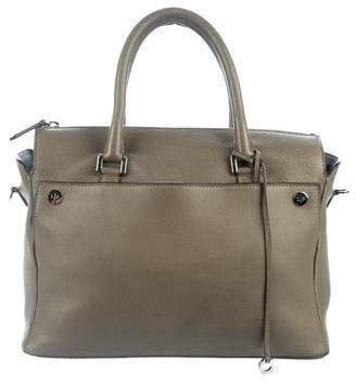 Loro Piana Soft Odessa Leather Satchel