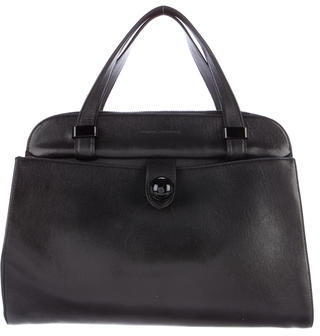 Marc Jacobs Marc Jacobs Leather Eddie Satchel