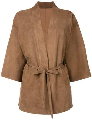 Salvatore Santoro belted jacket