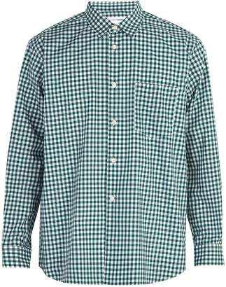 Comme des Garcons Forever gingham cotton shirt