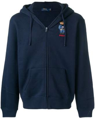 Polo Ralph Lauren embroidered Teddy cardigan