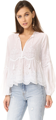 Ulla Johnson Lucie Blouse $345 thestylecure.com