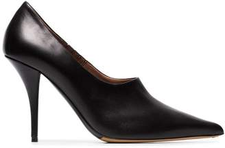 Tabitha Simmons Oona 95 leather pump booties