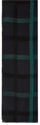 REISS Elise Check Scarf $120 thestylecure.com