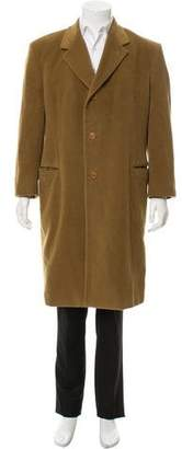 Giorgio Armani Angora & Wool Long Coat
