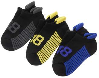 Crazy 8 C8 Stripe Ankle Socks 3-Pack