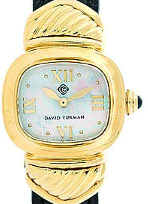 David Yurman Cable Capri 18K Yellow Gold Womens Watch